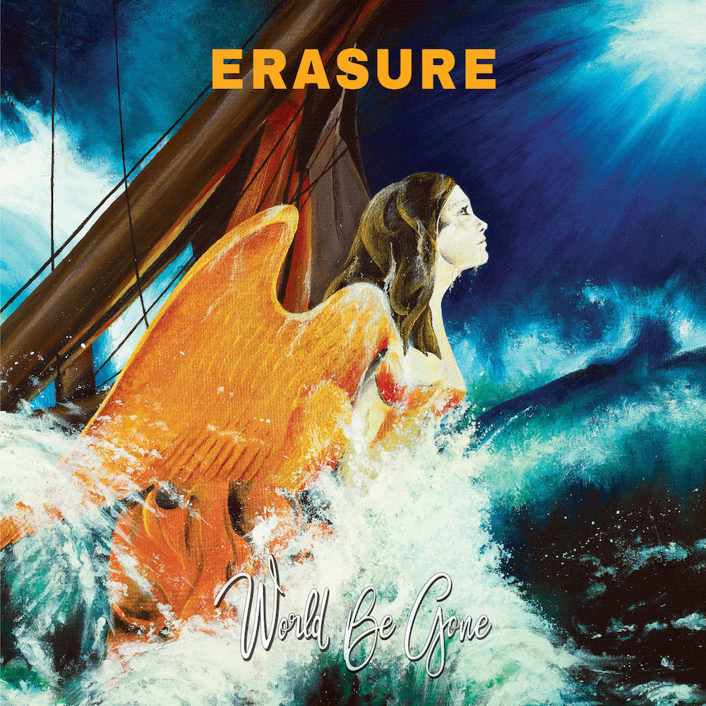 erasure world be gone new album 2017 Erasure share new song Love You to the Sky    watch