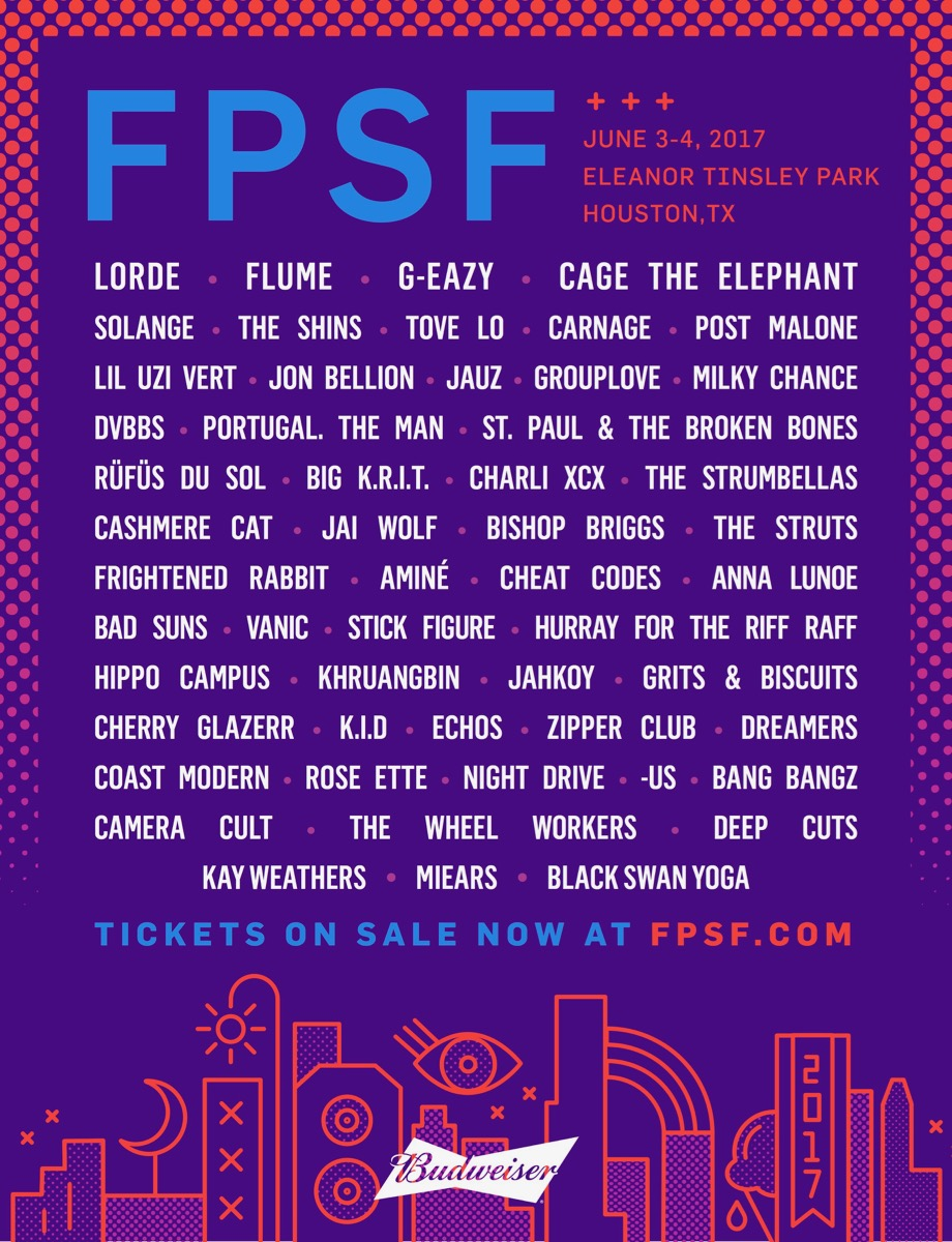 fpsf17 admat 0214 final Win VIP tickets to Houstons FPSF 2017