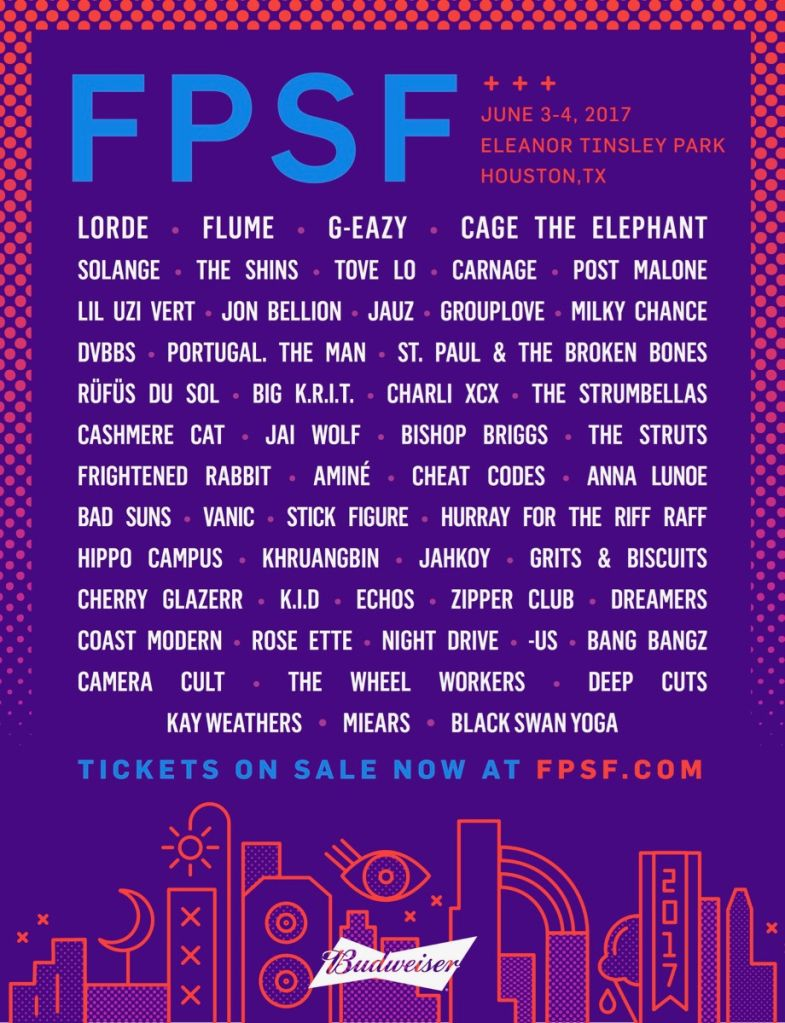fpsf17 admat 0214 final FPSF reveals 2017 lineup: Lorde, Flume, Solange, and more