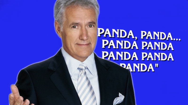 Tonight's Jeopardy! saw Alex Trebek spit hip-hop lyrics, and