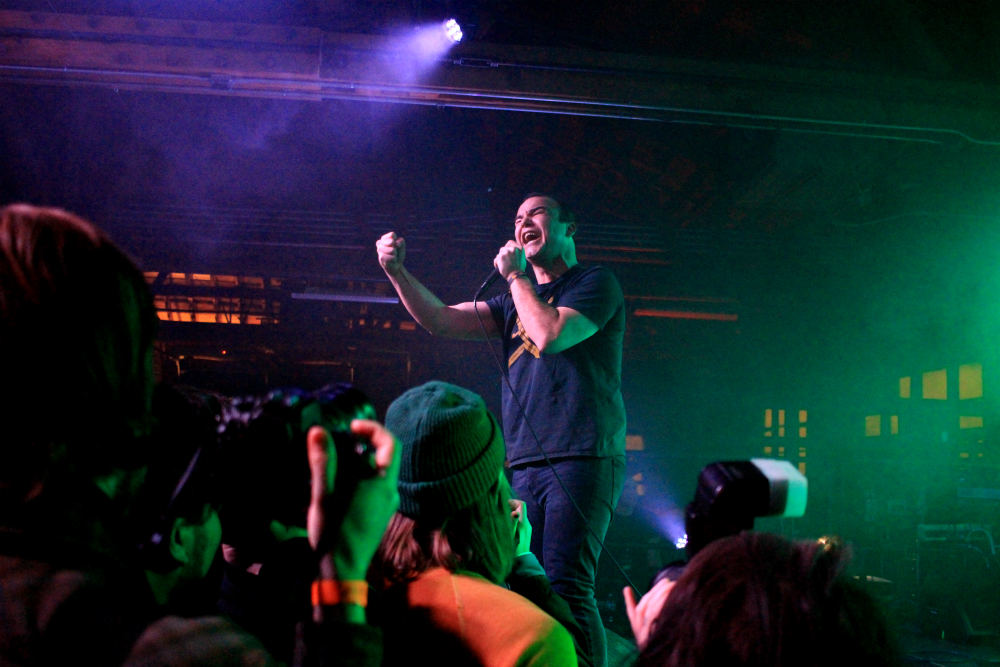 kaplan cos vans future islands 5 Live Review: Future Islands Preview New Album at House of Vans Chicago (2/3)