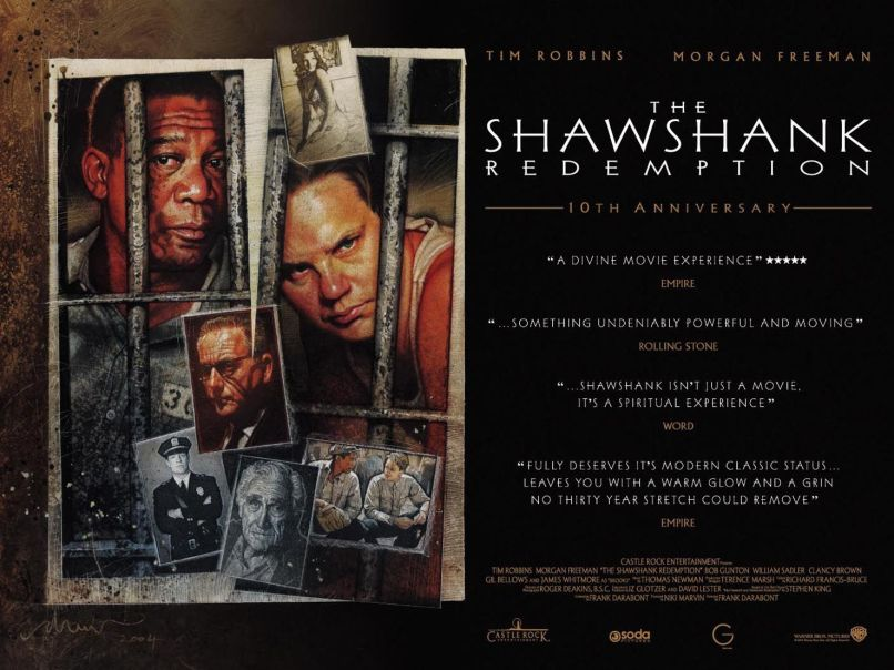 shawshank redemption ver7 xlg 10 Iconic Films That Never Won a Single Oscar