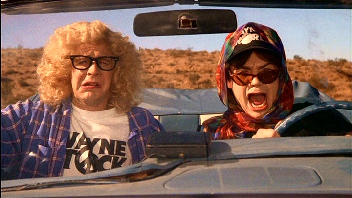 thelma and louise Does Waynes World or Its Sequel Party Harder?