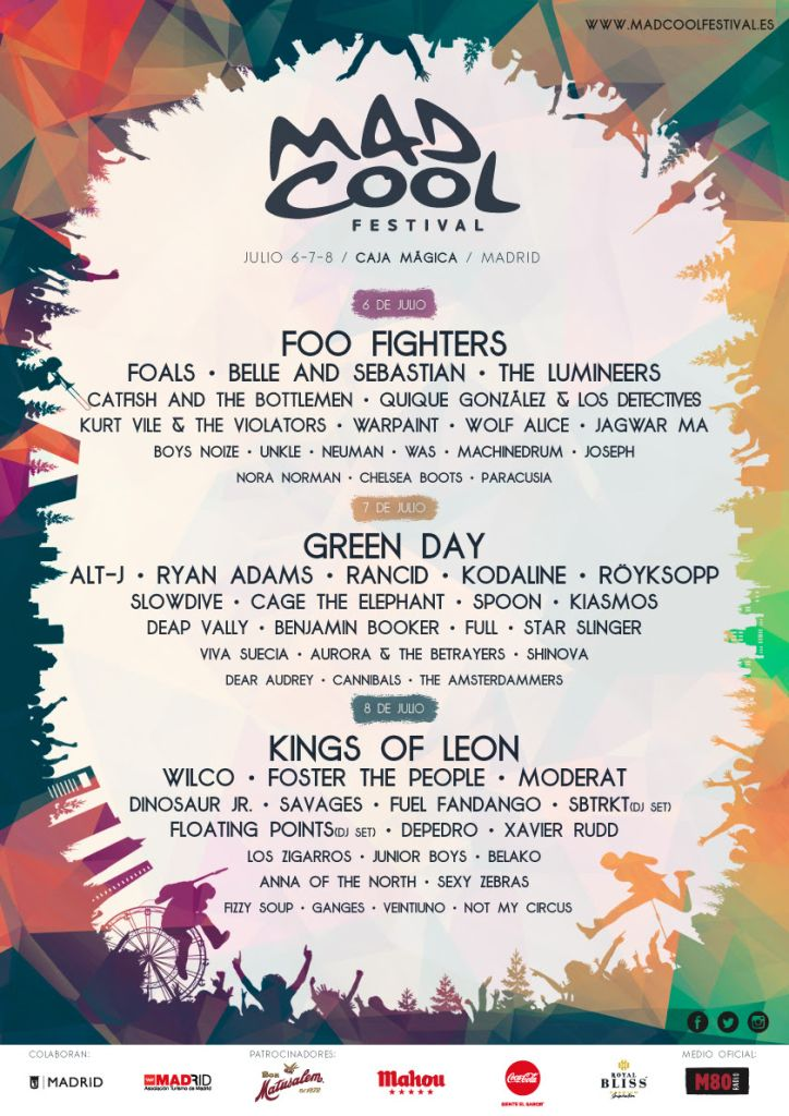 unnamed 211 Mad Cool Festival lives up to its name with stacked 2017 lineup
