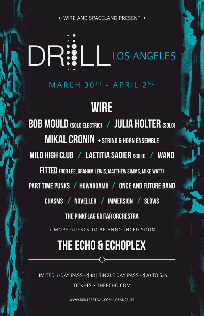 unnamed 26 Wire announce DRILL: LA Festival, spring tour dates