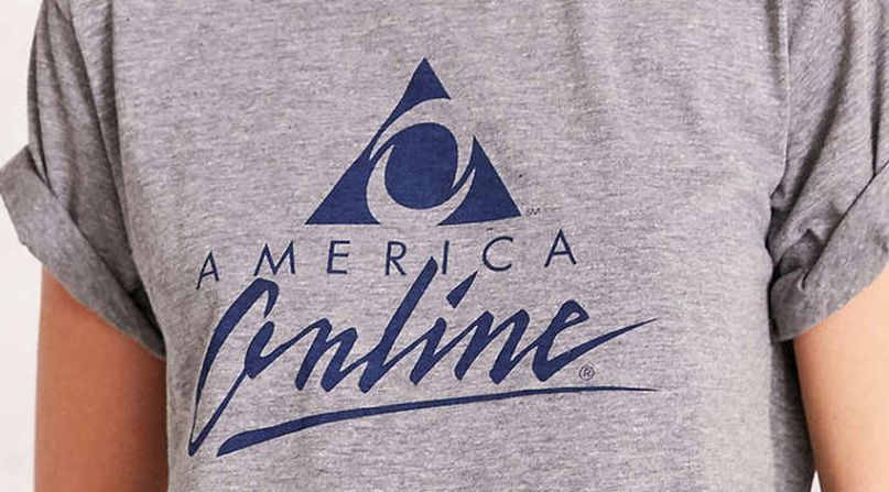 Urban Outfitters is selling an insanely priced AOL t-shirt