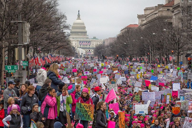 womens march on washington 32593123745 Lessons from Fugazi on Taking Down Donald Trump
