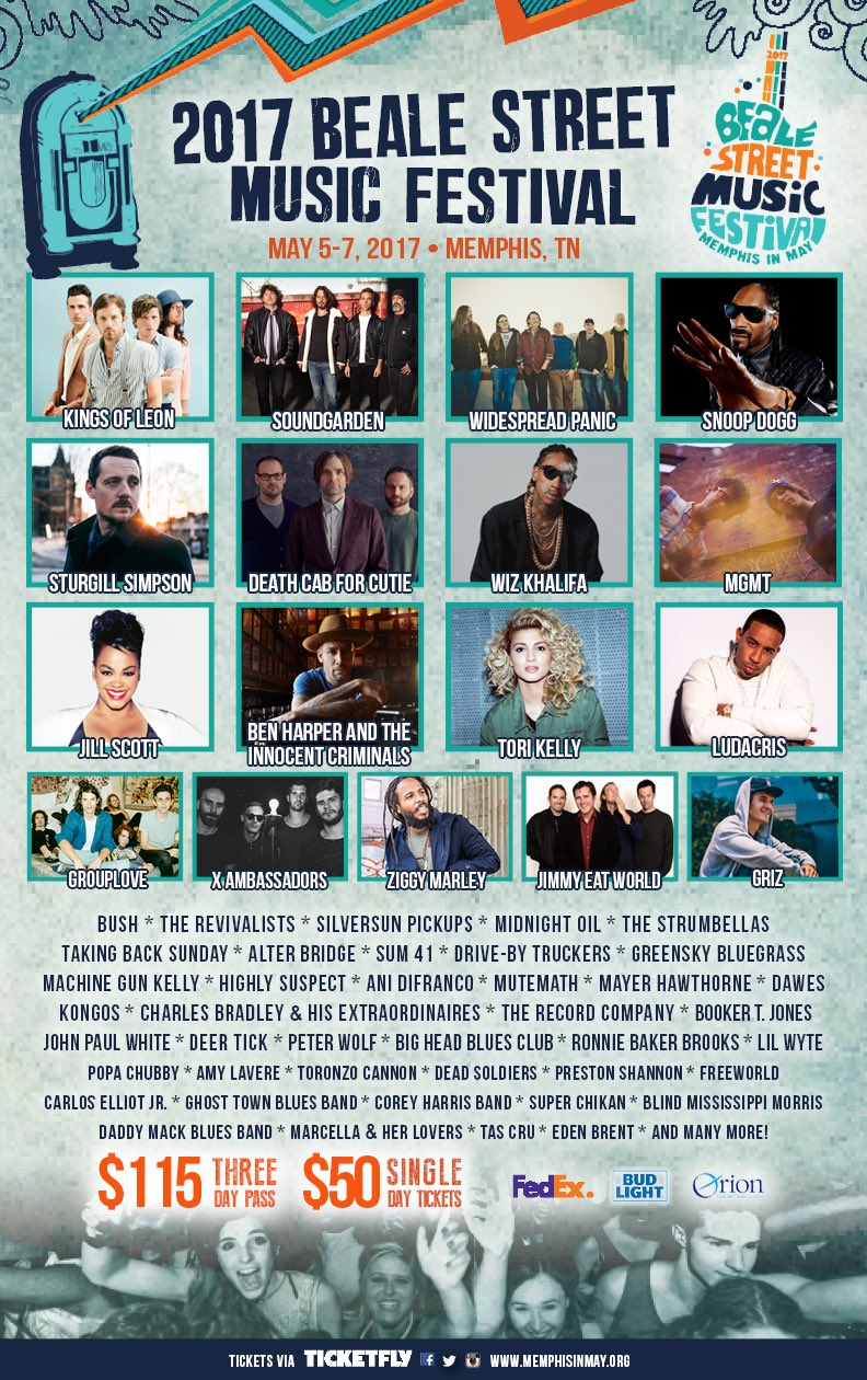 c66c q1u0aamub6 Win tickets to Beale Street Music Festival 2017