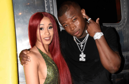 Cardib and O.T. Genasis // Photo by Tim Mosenfelder