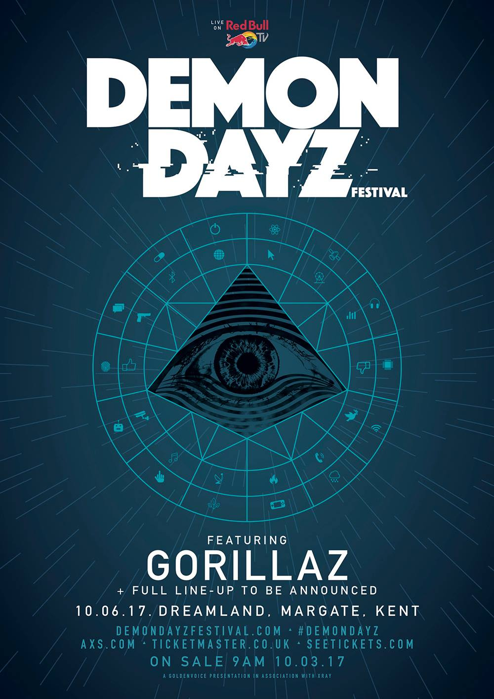 demon dayz Gorillaz announce first live performance in five years with launch of their own Demon Dayz festival