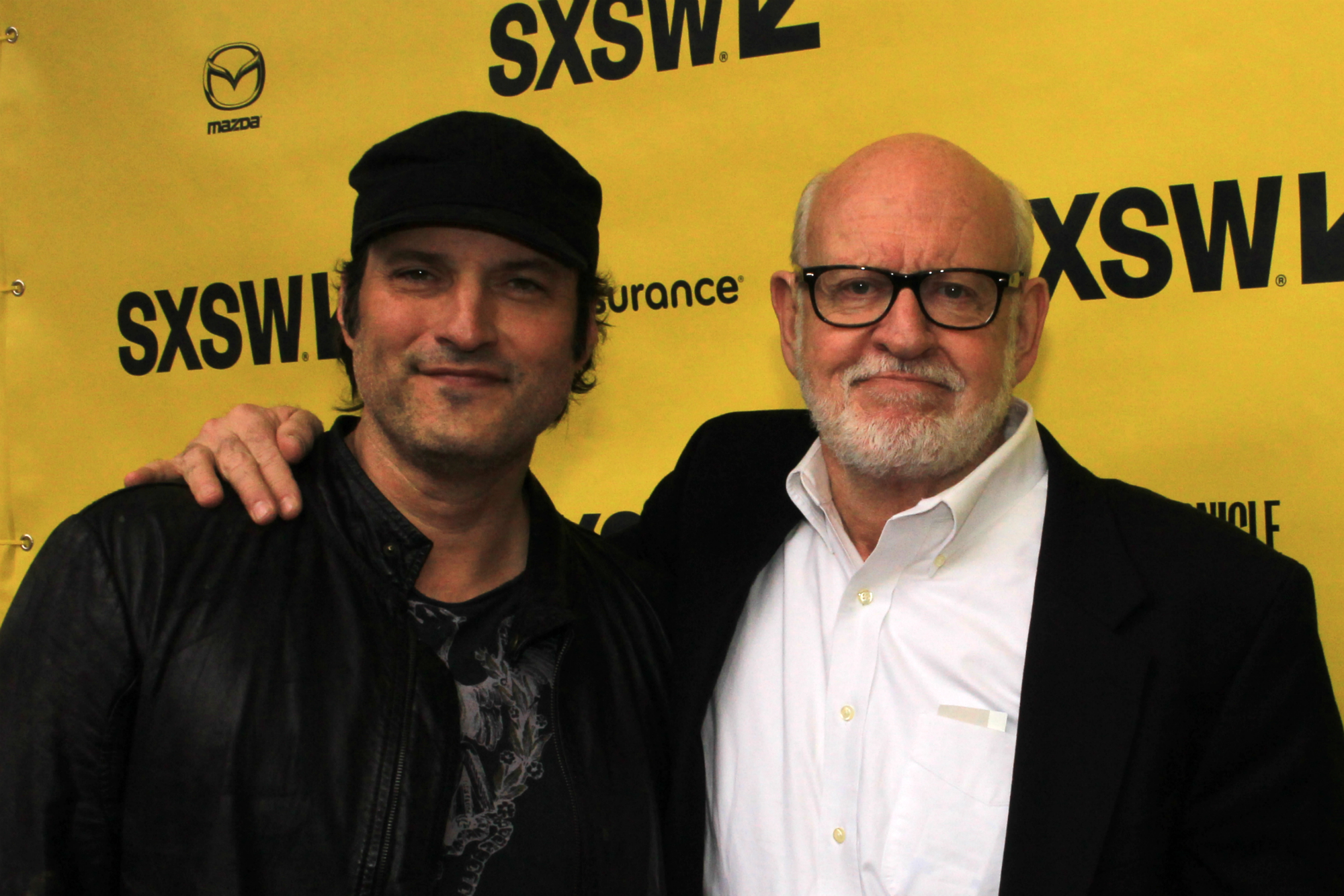Robert Rodriguez and Frank Oz // Muppet Guys Talking // Photo by Heather Kaplan