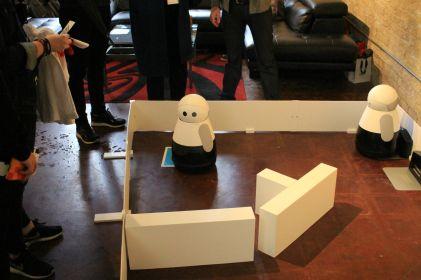 Kuri Robot // Photo by Heather Kaplan