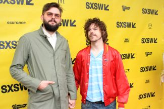 Nick Thune and Andre Hyland // Mr. Roosevelt // Photo by Heather Kaplan