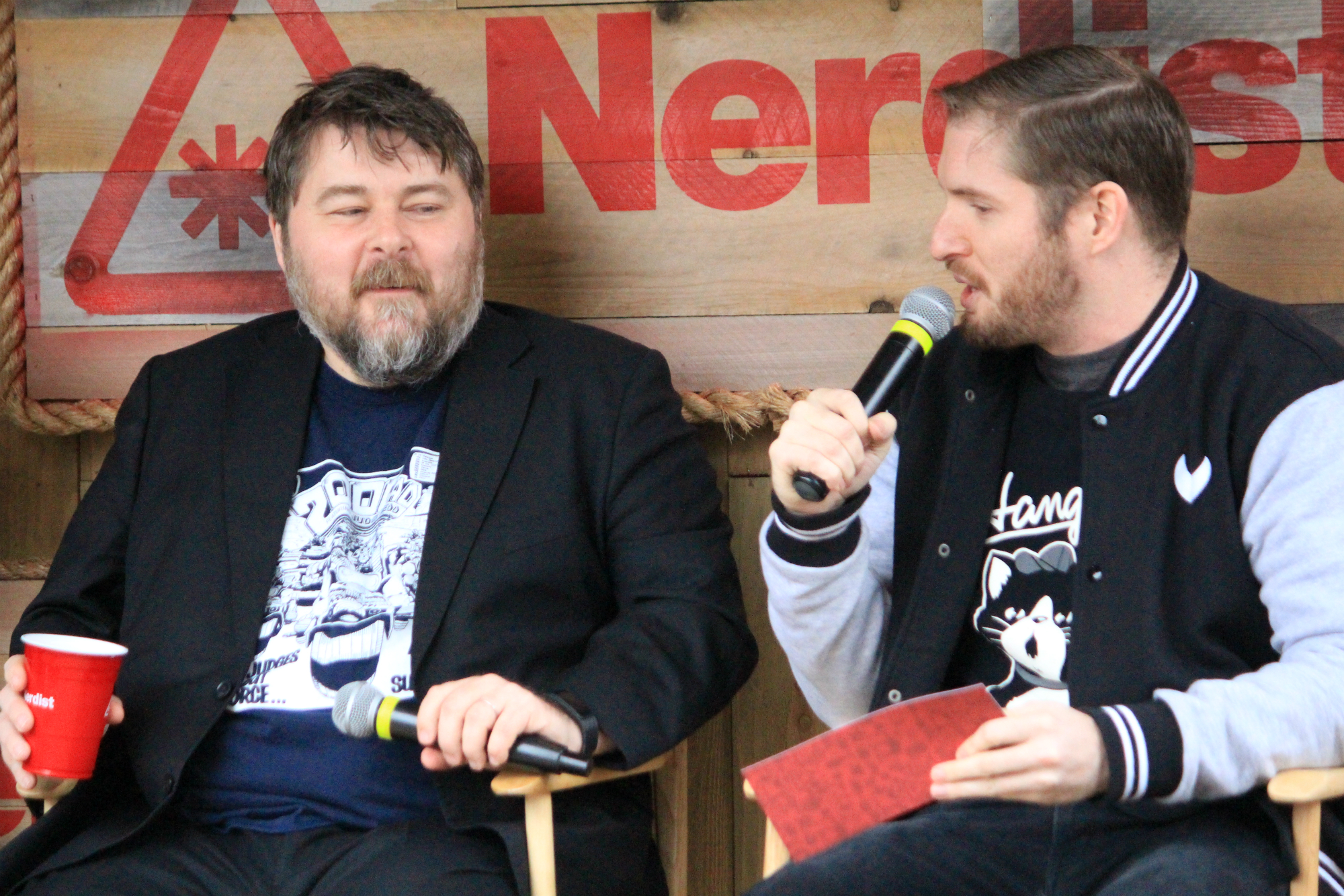 Ben Wheatley // Free Fire Panel // Photo by Heather Kaplan