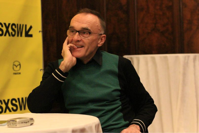 Danny Boyle, photo by Heather Kaplan