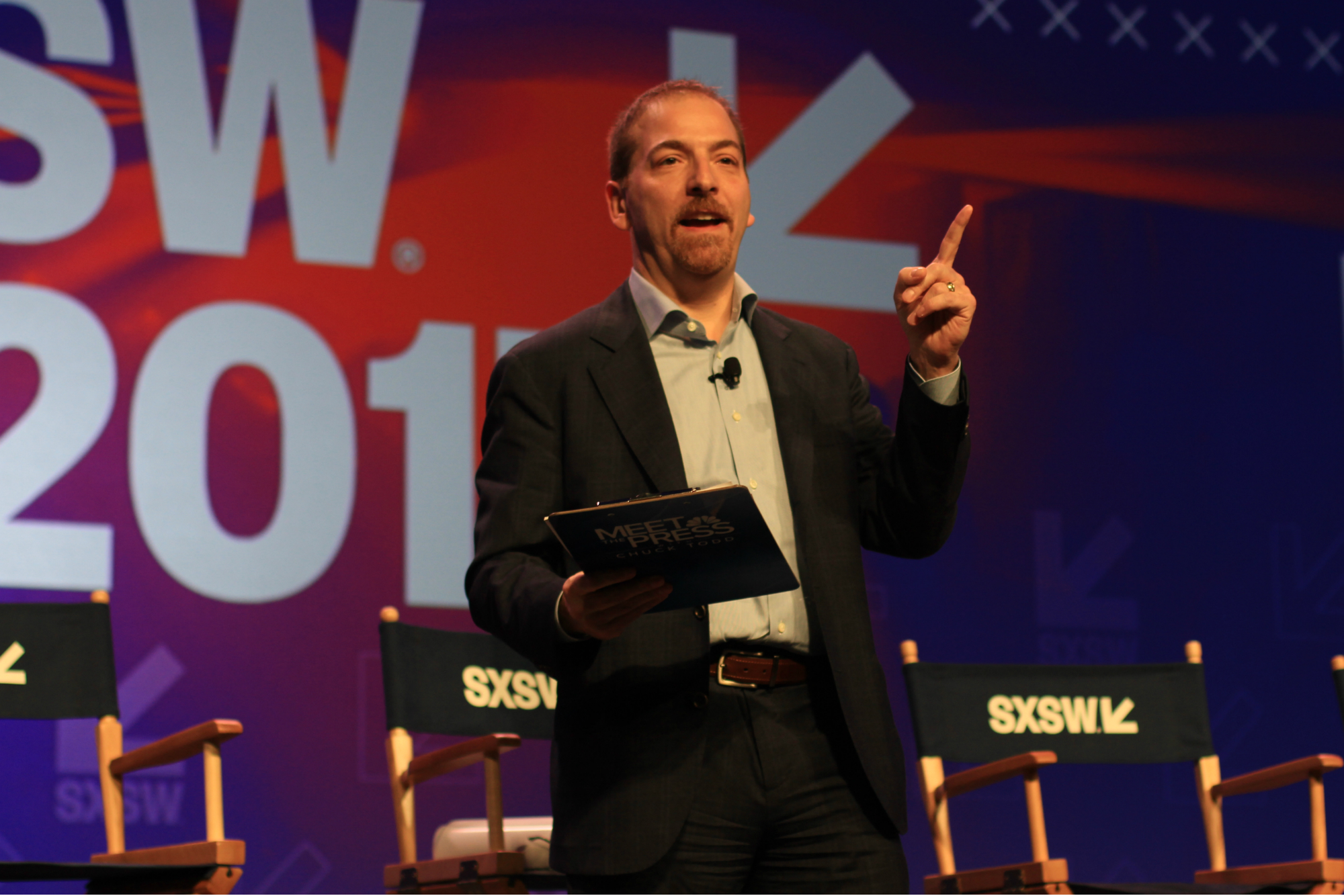 Chuck Todd // HBO's Veep Panel // Photo by Heather Kaplan