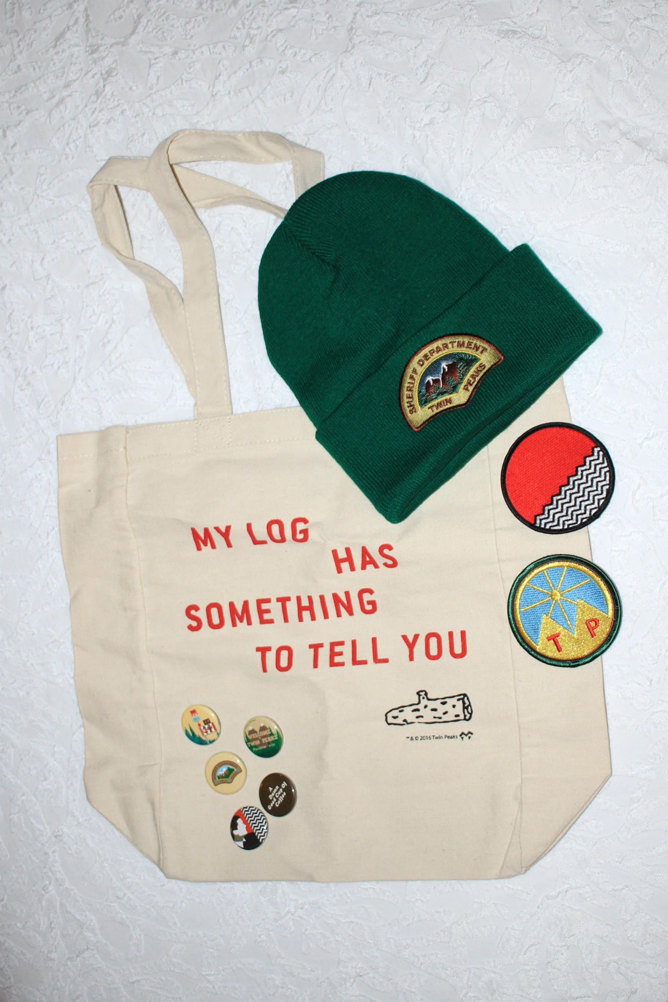Twin Peaks Lodge Swag // Photo by Heather Kaplan