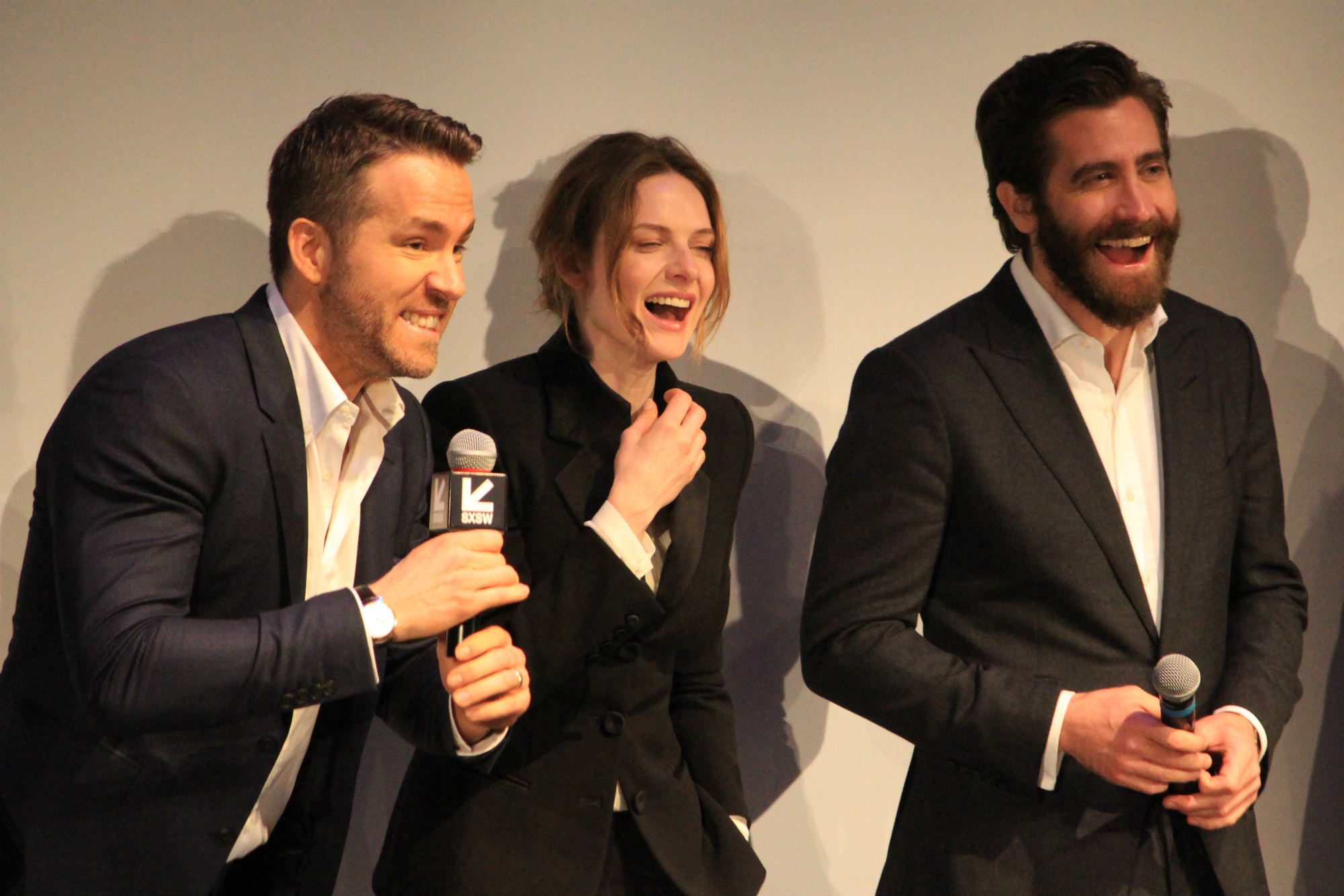 Ryan Reynolds, Rebecca Ferguson, and Jake Gyllenhaal // Life // Photo by Heather Kaplan