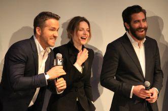 Ryan Reynolds, Rebecca Ferguson, and Jake Gyllenhaal // Life // Photo by Heather Kaplan