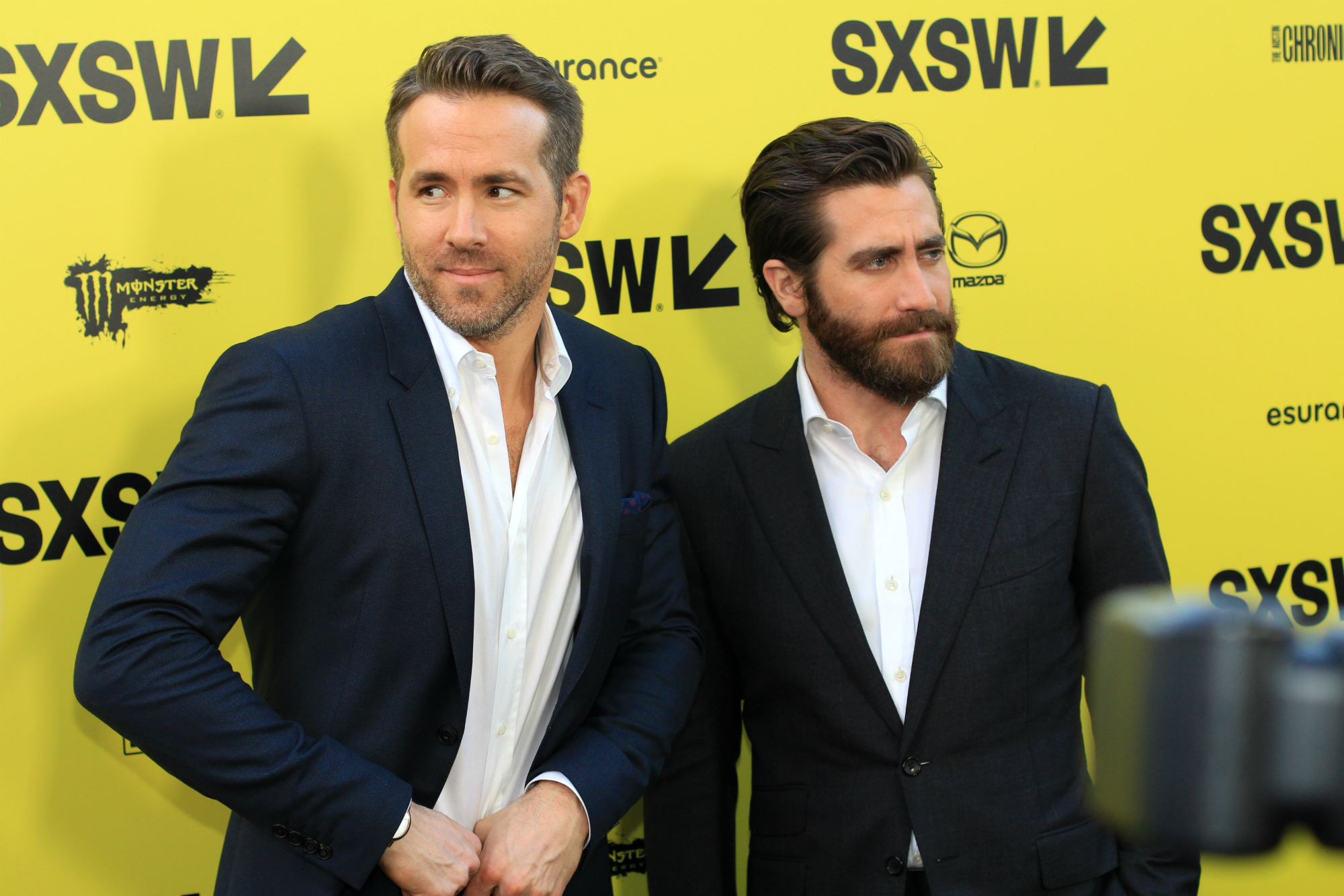 Ryan Reynolds and Jake Gyllenhaal // Life // Photo by Heather Kaplan