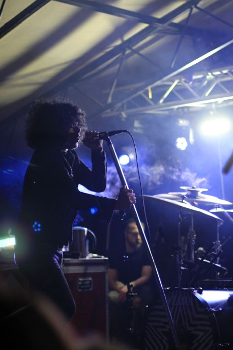 At The Drive-In // Photo by Heather Kaplan