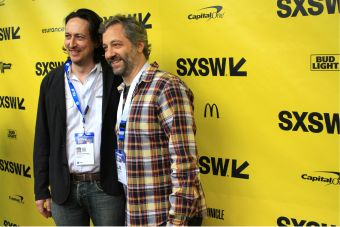 Michael Bonfiglio and Judd Apatow // May It Last // Photo by Heather Kaplan