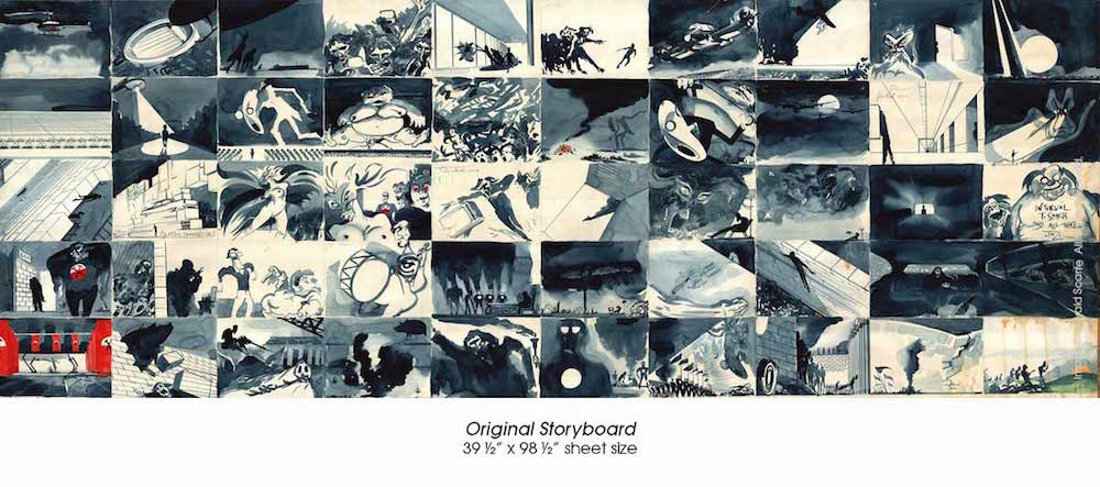 storyboard lg text Original paintings from Pink Floyds The Wall to go on exhibit, put up for sale
