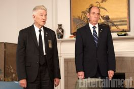 David Lynch and Miguel Ferrer
