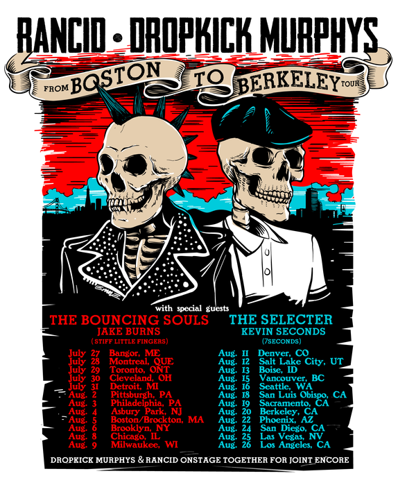 unnamed 8 Rancid and Dropkick Murphys announce co headlining tour, and my 16 year old self just died