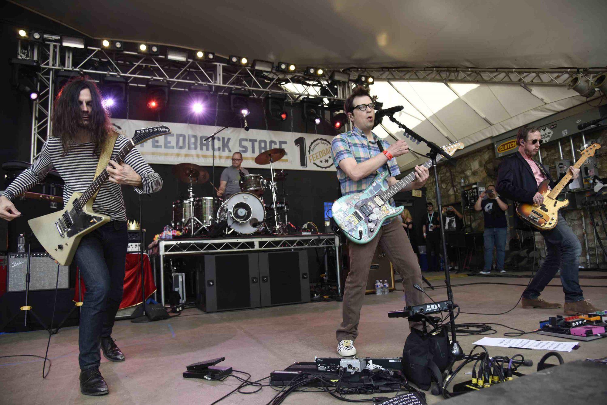 Weezer // Photo by Tim Mosenfelder
