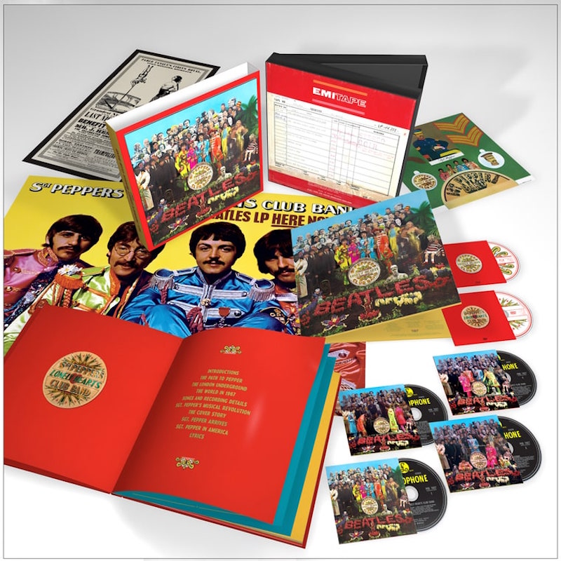 beatles sgt pepper reissue 50th anniversary The Beatles to release massive 50th anniversary reissue of Sgt. Peppers Lonely Hearts Club Band