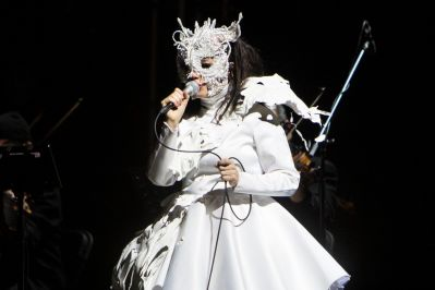 Björk // Photo by Philip Cosores