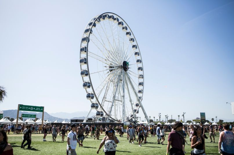 Coachella, photo by Philip Cosores