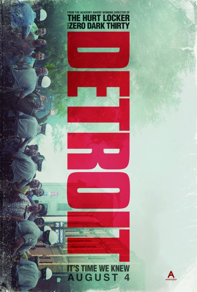 detroit poster Kathryn Bigelow returns with explosive first trailer for Detroit    watch