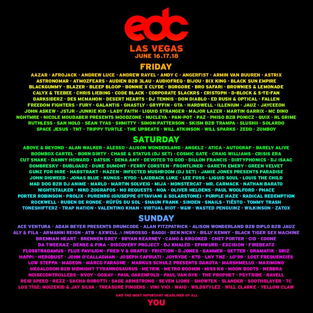 edc vegas 2017 lu lineup by day 1080x1080 r07v02 Electric Daisy Carnival Las Vegas announces 2017 lineup