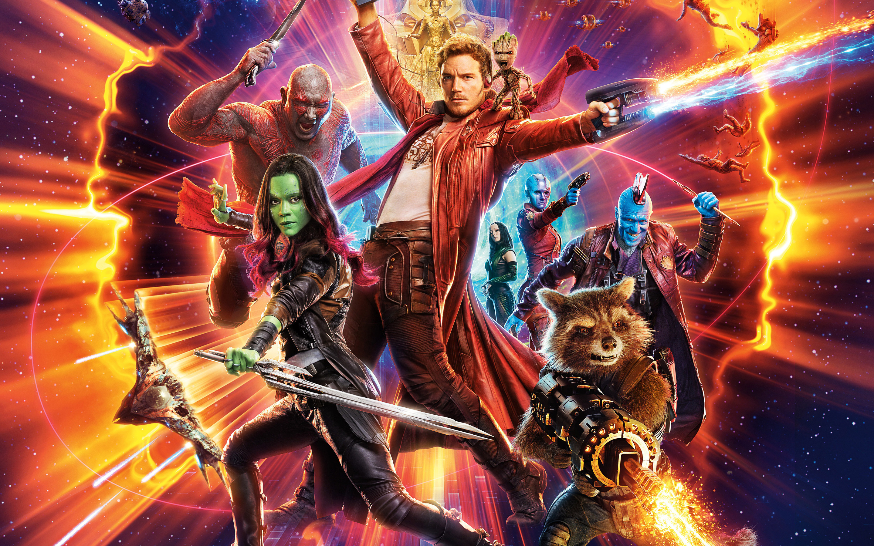 guardians of the galaxy vol 2 5k 4k hd qu 2880x1800 A Guide to Guardians of the Galaxy Vol. 2s New Characters