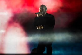 Kendrick Lamar // Photo by Philip Cosores