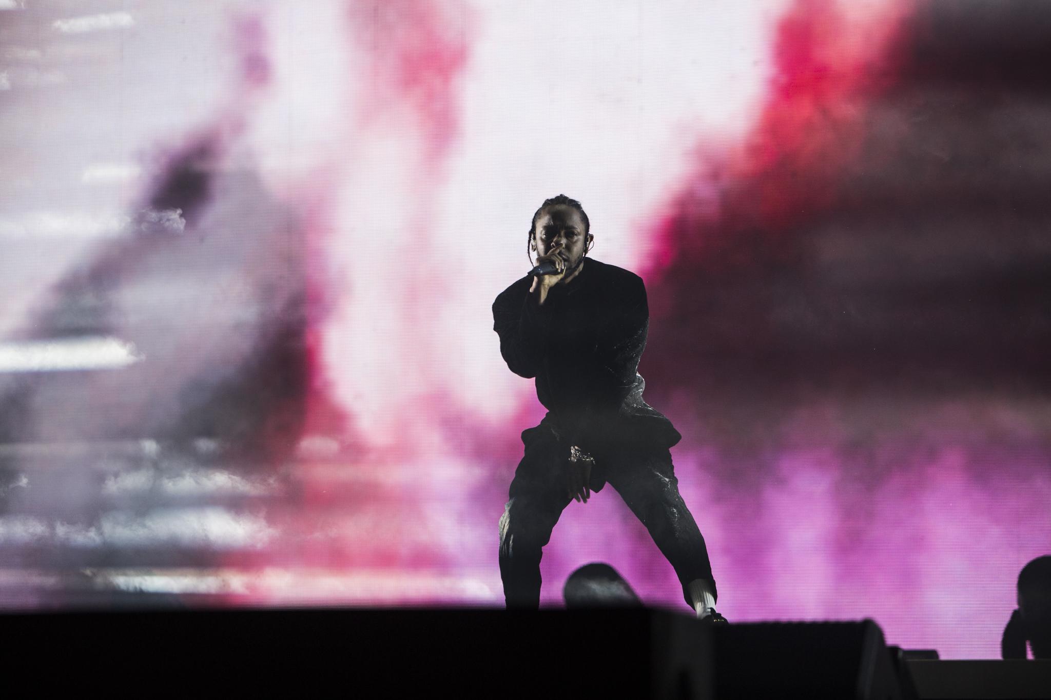 kendrick lamar 2 Coachella Review: Kendrick Lamar Delivers a DAMN. Good Performance