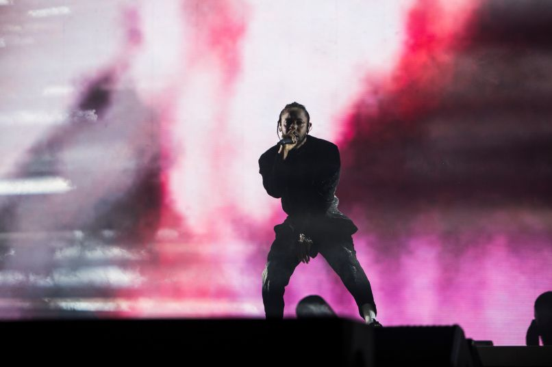 kendrick lamar 2 Coachella Review: Kendrick Lamar Delivers a DAMN. Good Performance