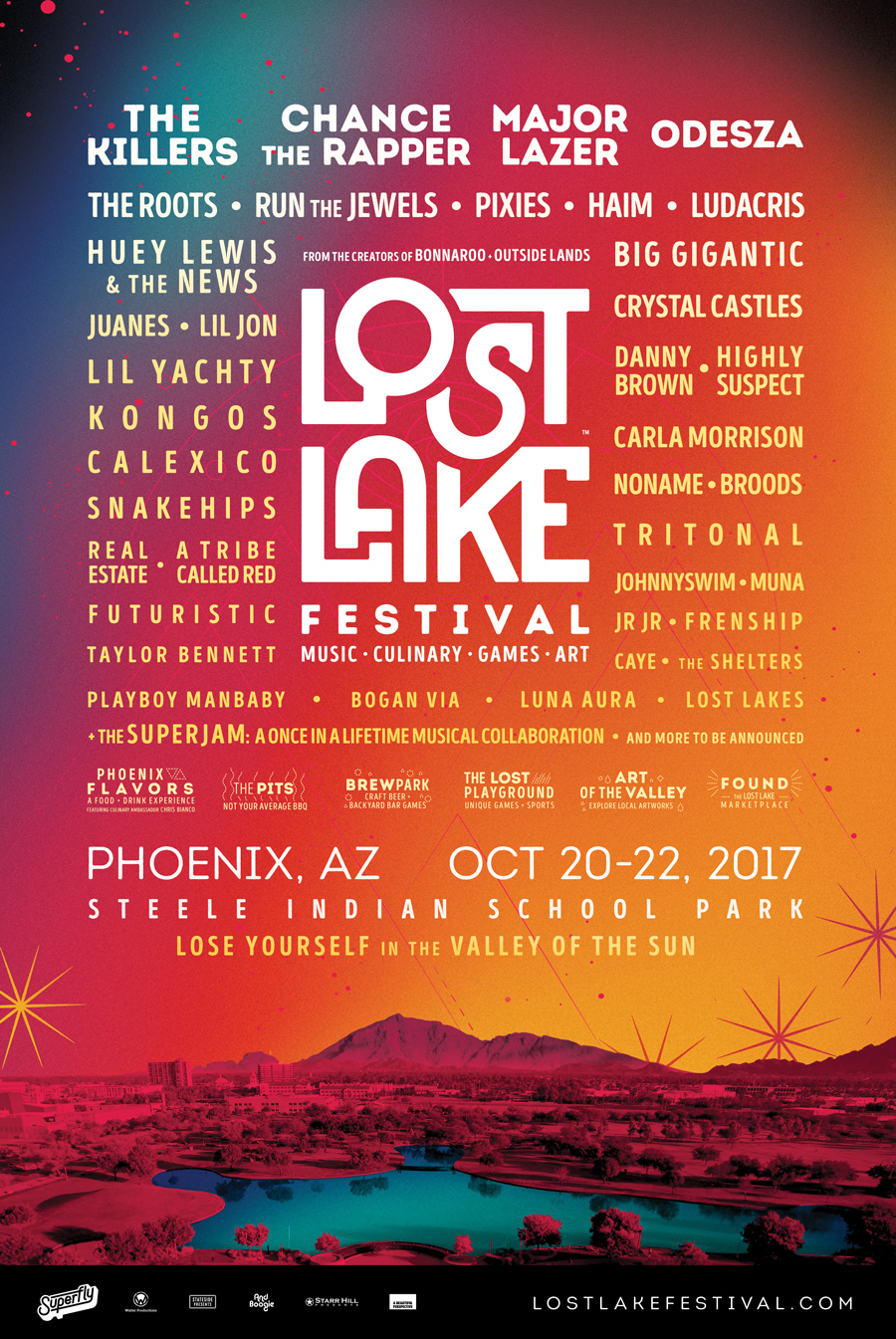 lost lake Lost Lake Festival reveals inaugural lineup: Chance the Rapper, The Killers, Pixies, and HAIM