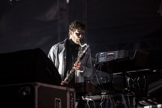 Nicolas Jaar // Photo by Philip Cosores