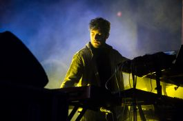 Nicolas Jaar // Photo by Philip Cosores