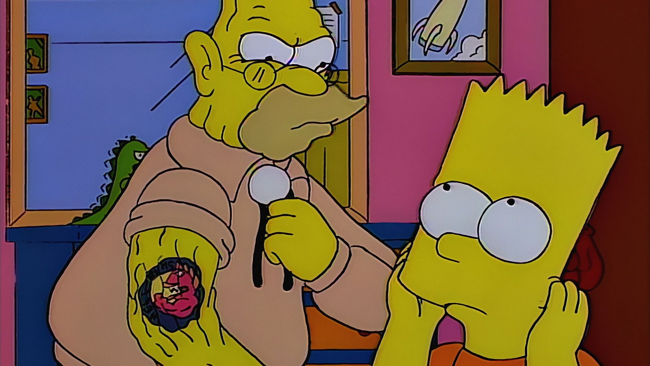 raging abe simpson and his grumbling grandson The Simpsons Top 30 Episodes