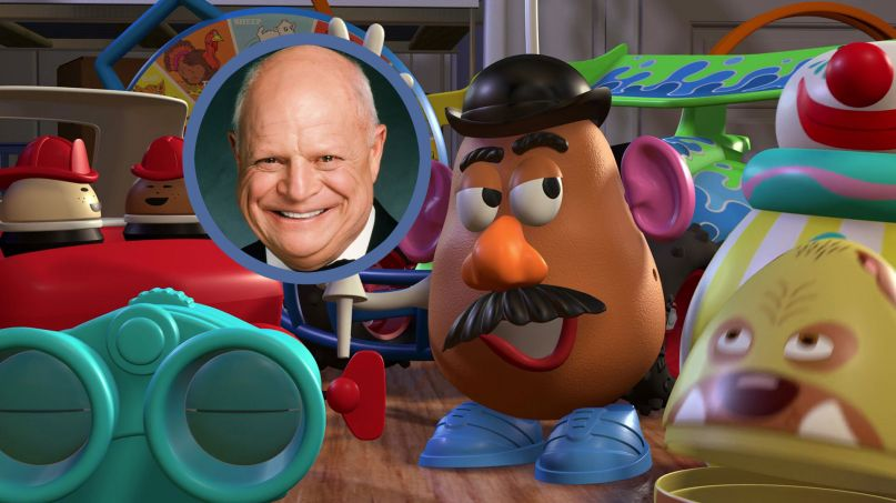 Don Rickles Hadnt Recorded Mr Potato Heads Lines For Toy