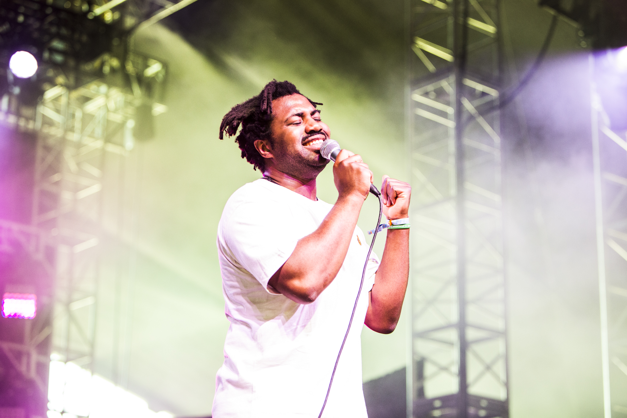 Sampha // Photo by Philip Cosores