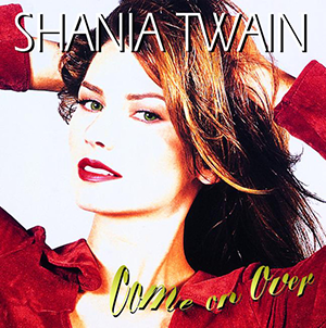 shania twain   come on over Top 50 Albums of 1997