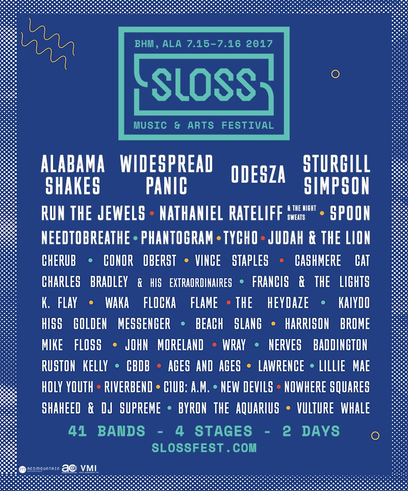 sloss fest 2017 Win tickets to Sloss Music & Arts Festival 2017
