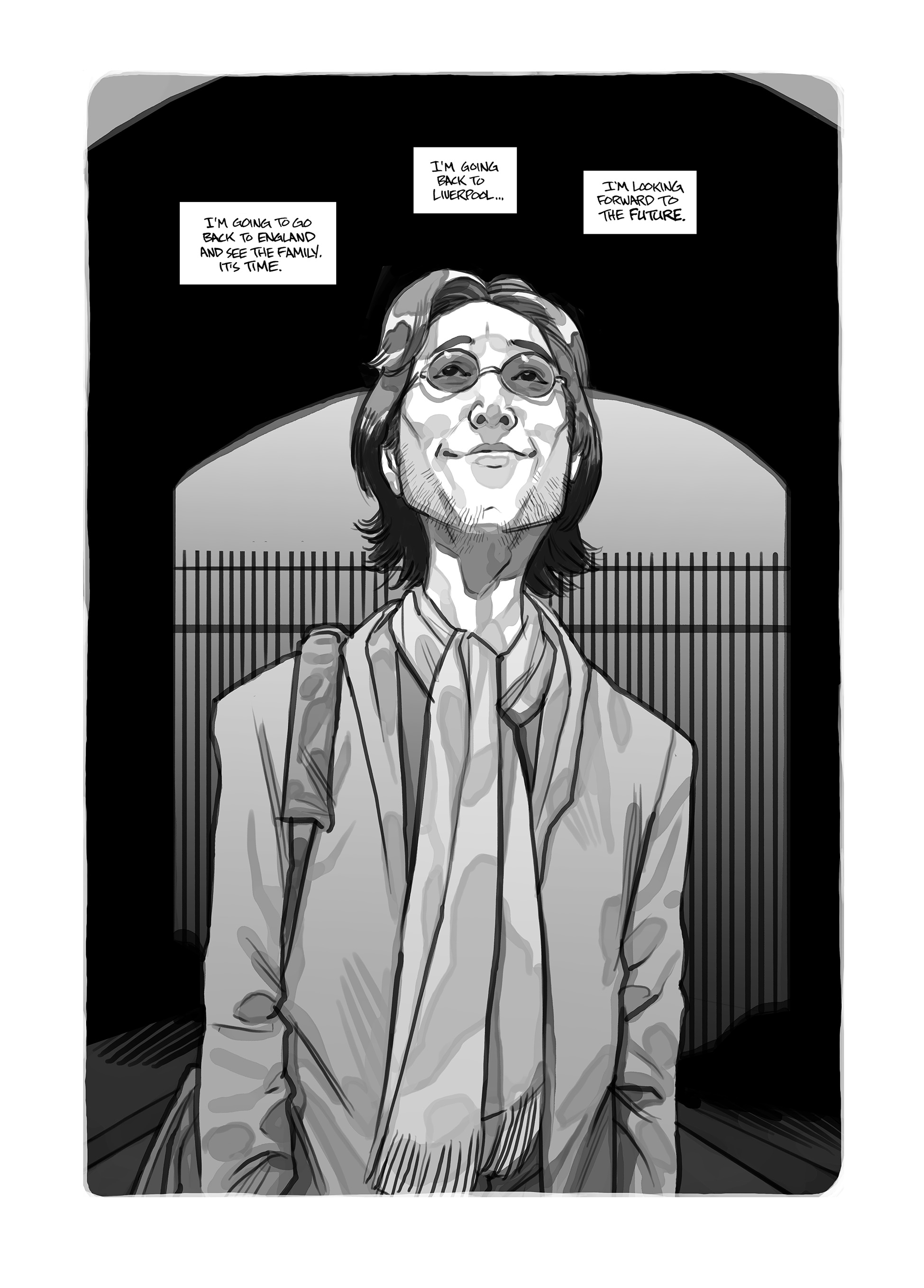 121 Graphic novel recounting John Lennons New York years previewed in new trailer    watch