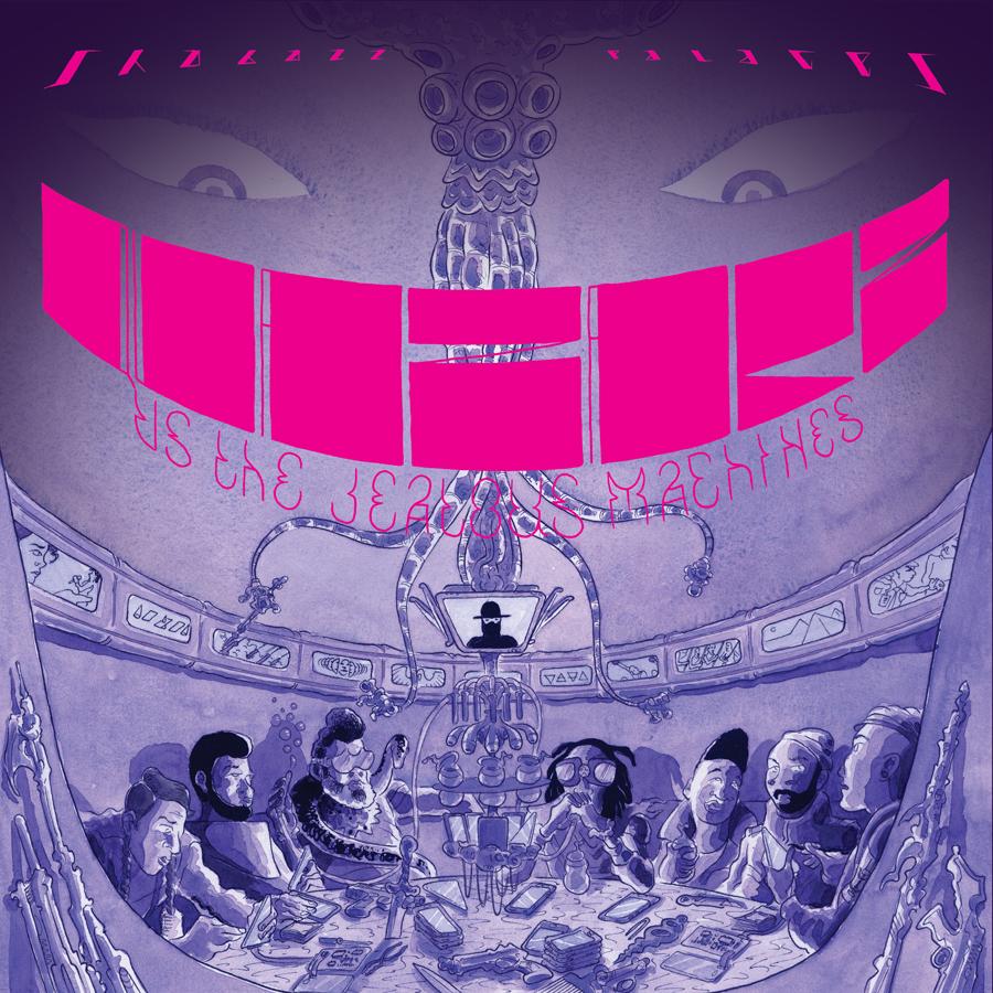 9cd12b47 9160 4424 894f f1ffa6659d55 Stream: Shabazz Palaces new albums Quazarz: Born on a Gangster Star + Quazarz vs. The Jealous Machines