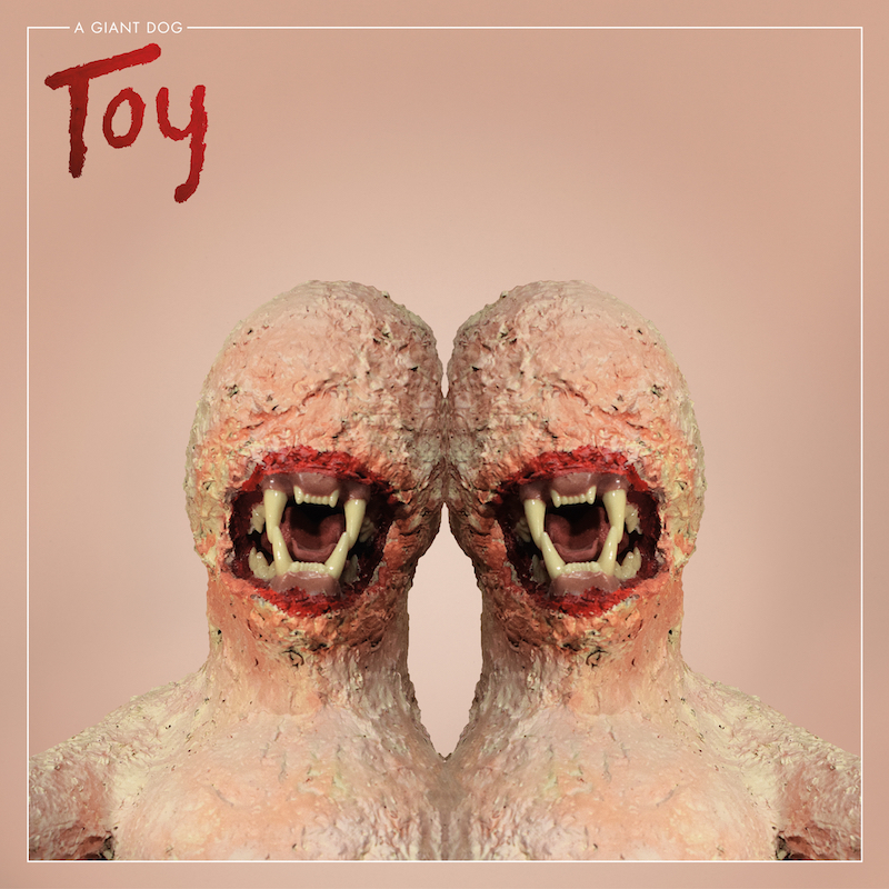 a giant dog toy album art A Giant Dog return with new album, Toy, share Photograph    listen